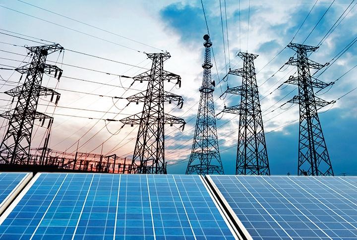 meterstanden en electriciteitsnet